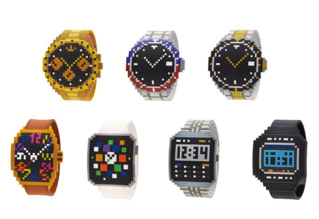 【気分だけはセレブ】300円の高級腕時計風ブレスレットが登場〜っ / クロスステッチがかわいいけど時間は一切分かりません