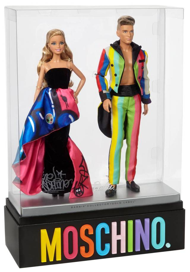モスキーノとコラボしたバービー&ケンが発売されるよ / ハイセンスなドレスとタキシードを着た超限定バージョンですッ!!!