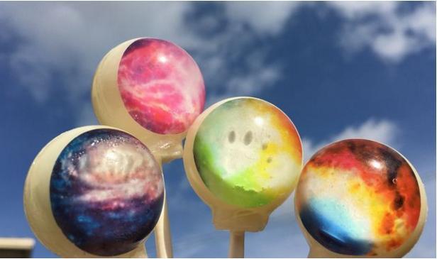 【キラッキラ】大人気の宇宙キャンディシリーズに「3Dキャンディ」と「星雲キャンディ」が仲間入り!