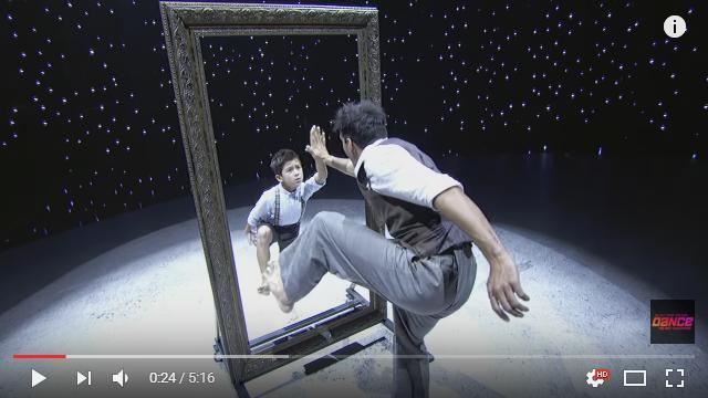 10歳の少年ダンサーがみせるミラーダンスがすんごい! 大人顔負けのパフォーマンスに会場は拍手喝さい