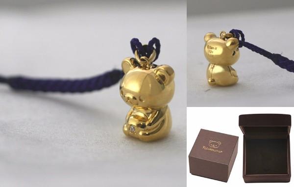 高っけええええェェェ!!!! 24Kの純金×ダイヤモンドの「リラックマ純金根付」のお値段が2度見必至 / かわいいけど庶民には無理…