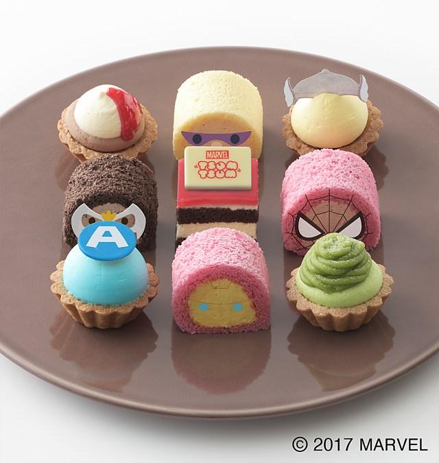 ひとつだけ様子が…「マーベル ツムツム」のプチケーキがコージーコーナーに登場! だがハルクが気の毒な件