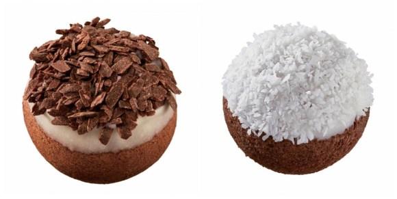 ポン・デ・ホワイト&ビターショコラボールとポン・デ・ホワイト&ビターショコラボール