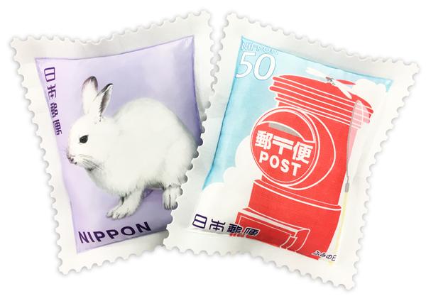 【欲しい】切手がでっかくなっちゃった!? 切手をクッションにするとめちゃんこカワイイことが判明