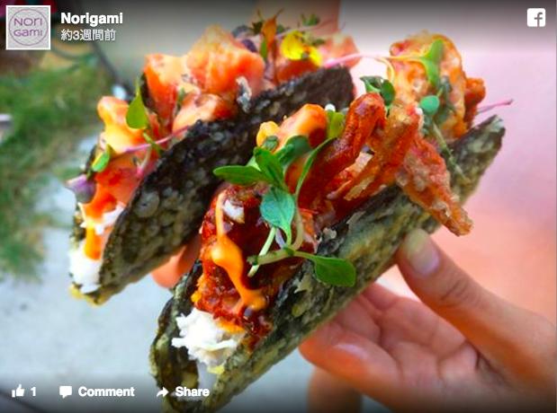 【日本人は好きかも】タコスだけど日本食!? パリパリの海苔で刺身やラーメンをはさむ「海苔タコス」がLAをザワつかせている