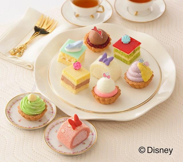 ディズニーのガールズキャラが「ひなまつり限定プチケーキ」に! ティンカー・ベルにアリエル、白雪姫…どれから食べる?