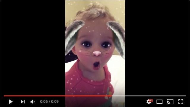ギャン泣きする赤ちゃんにスナップチャットを見せたところ…「およよー!」と一瞬で笑顔に♪