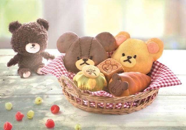 大阪に「くまのがっこう」とコラボしたベーカリーカフェがオープン / おてんばなジャッキーがチョコクリームたっぷりのパンに♪