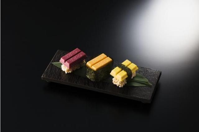 寿司キットカットですと!? 銀座に「キットカット ショコラトリー」初の路面店がオープン / 500人だけがゲットできる限定プレゼントは争奪戦の予感