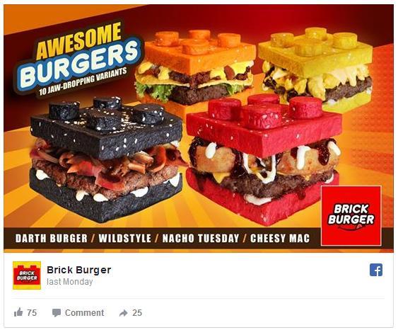 バンズがレゴブロックそっくり! フィリピンに登場した「レゴバーガー」の可愛さに胸キュンが止まりませんっ