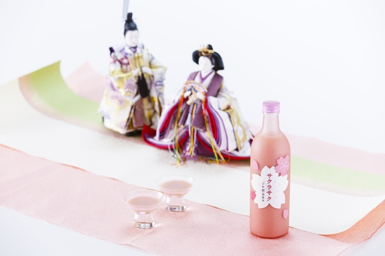 味は桜餅、色は淡~いピンク色…春限定の麹の甘酒「サクラサク」が胸キュンの可愛さだよ!