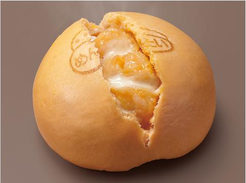 セブンから女子の好物だらけの「明太チーズポテトまん」が登場♪ 表面には謎のゆるキャラの刻印も…