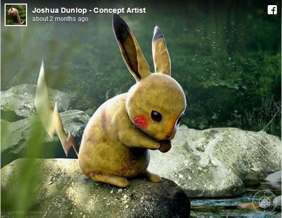 ポケモンが実在するとしたらきっとこんな感じ? ロンドンのアーティストが手掛けたデジタルファンアートがリアルすぎぃ!!