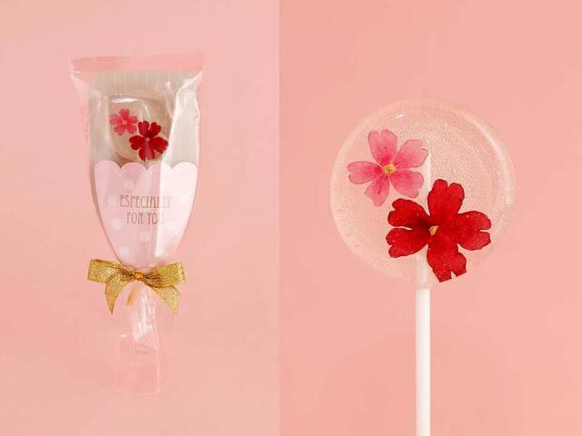 ホワイトデーのプチギフトにも♡ 食べられるお花を閉じ込めた「エディブルフラワーキャンディ」がロマンチック