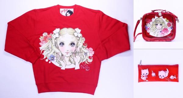 高橋真琴の少女絵とファッションブランドのコラボが可憐♪ 夢見る乙女のためのレトロでかわいいグッズが発売されるよ!