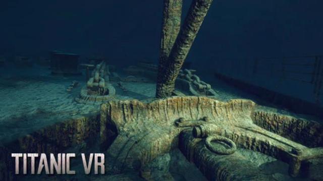 タイタニック号の沈没と難破船の探索を体感できるVRがすごそう / 実在した人物や発見されたものまで忠実に再現