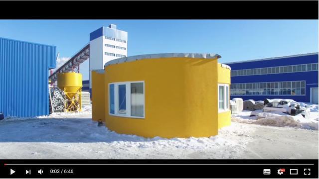 建築用3Dプリンターで家を建てると…たったの24時間で完成しちゃった! その様子をごらんください