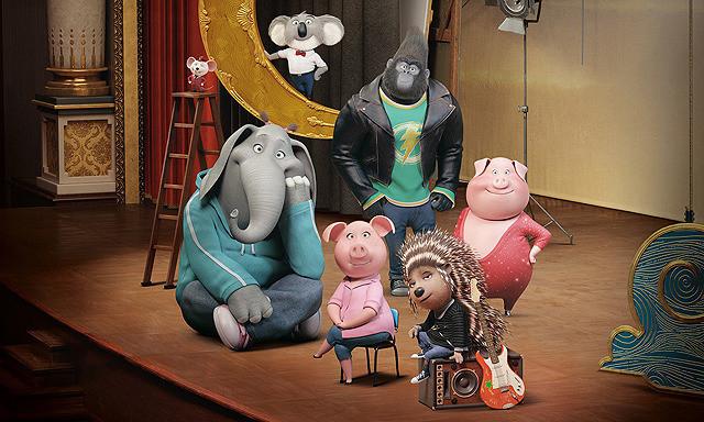 映画『SING / シング』はビートルズからきゃりーぱみゅぱみゅなど超人気ミュージックが大集合! 動物たちのノリノリ歌唱は爆笑と感動の渦です!
