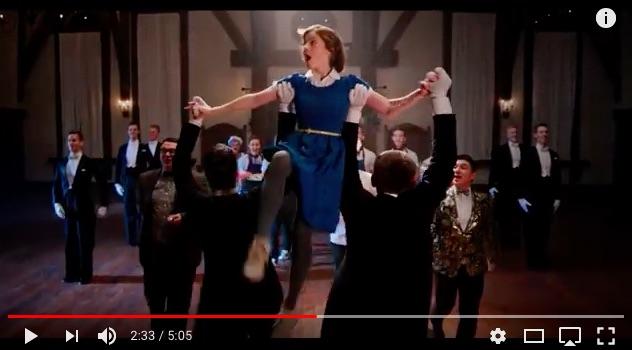 【イヤホン推奨】「美女と野獣」をアカペラミュージックとダンスで表現! たった10人の歌声なのにオーケストラみたいな華やかな音と迫力に感動