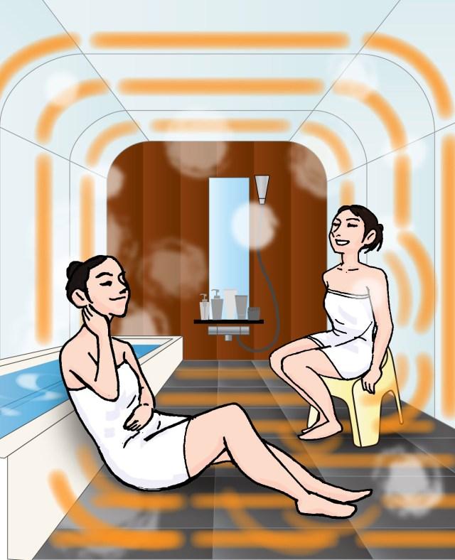家で岩盤浴の時代来たー! 自宅の浴室を岩盤浴に改装できるサービスがめちゃめちゃ気になります
