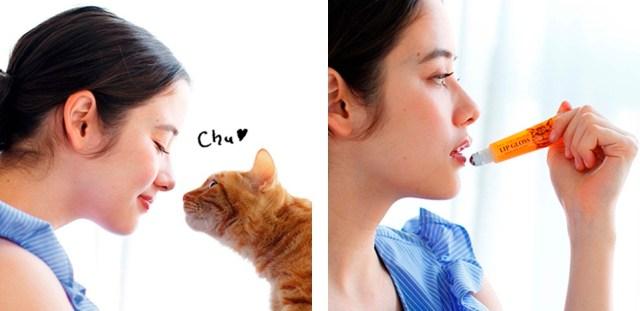 ニャンコのひんやりと湿った鼻にキスしたみたい? 「ネコの鼻」にこだわりまくったリップグロスが発売されたよ!
