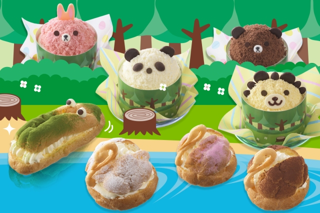 上野の新名物!? パンダの顔のケーキやワニをイメージしたエクレアなど動物モチーフのスイーツ8種が激カワなり★
