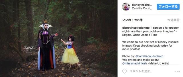 7歳の娘とママの「ディズニープリンセスコスプレ写真」がハイクオリティすぎる! 美しいママのヴィランズ姿が圧巻…