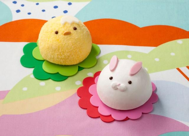 【ひとめ惚れ★】セブンから「ことり」&「うさぎ」のまんまるムースケーキが登場! ふわふわの産毛みたいで可愛いです♪