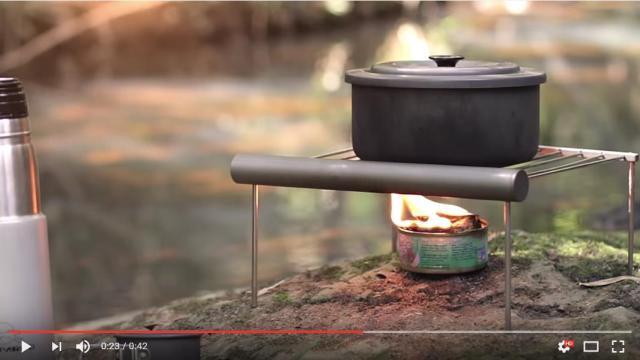 【衝撃】キャンプでのツナ缶の優秀ぶりに震える動画 / 燃料にも食料にもなって最初から最後までムダがなさすぎ