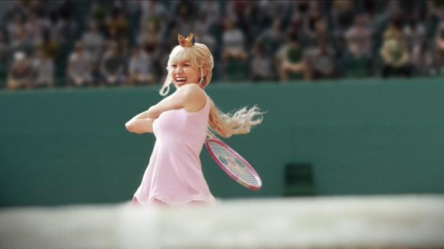 【マリオ白目】二階堂ふみが演じるピーチ姫がめっちゃ強そう! クッパを一撃で倒しそう!! 「マリオスポーツ」の世界をCMで実写化した動画がヤバい