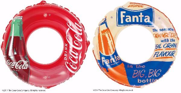 夏が来るのが待ち遠しくなる♪ コカ・コーラやファンタのレトロかわいいビーチグッズが新発売されたよ!