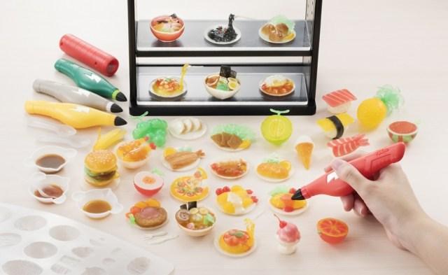 めちゃんこリアルな食品サンプルを作れる3Dペンが発売されるよーっ! 子供よりも大人がハマりそう…
