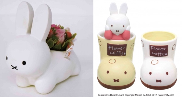 ミッフィーのお花屋さんがエキュート品川に期間限定オープン♪ お花にちなんだミッフィーグッズ&母の日ギフトがいっぱい!