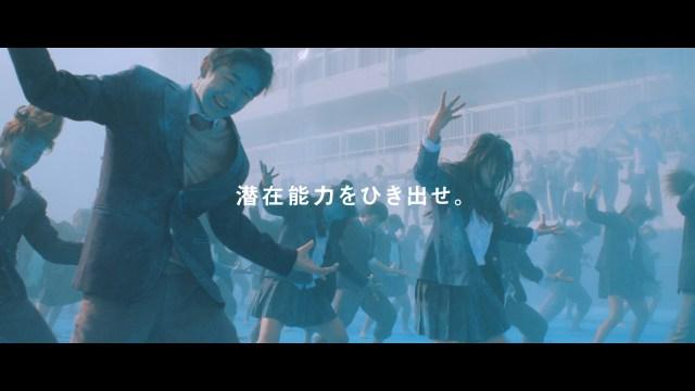【イヤホン推奨】ポカリスエットCM『踊る始業式』60秒篇がまぶしすぎて泣ける…青春の情熱ときらめきがあふれています
