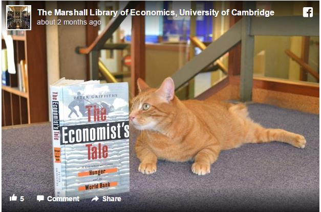 大学図書館で働く猫「ジャスパー」 仕事内容は疲れた学生たちのハートを日々癒すことニャッ♪