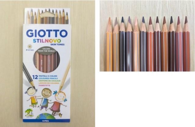 世界の「はだいろ」ってこんなにも色とりどり! イタリアのメーカーによる「いろんな肌色を集めた色鉛筆セット」
