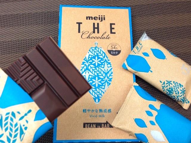 【さっそく味見】明治ザ・チョコレートの新作「ビビッドミルク」は意外とモテるさわやか男子のような味がします
