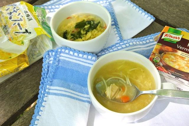 【意外な日本みやげ】インスタントスープが喜ばれる予感 / 軽くて持っていくのも楽チンです♪
