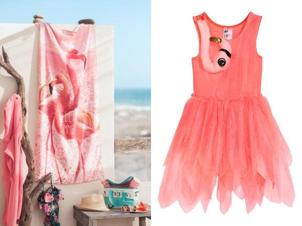 【夏っぽい♡】H&Mのフラミンゴアイテムが可愛すぎる!! Tシャツや水着、食器なんかの小物も豊富にそろってるよ〜