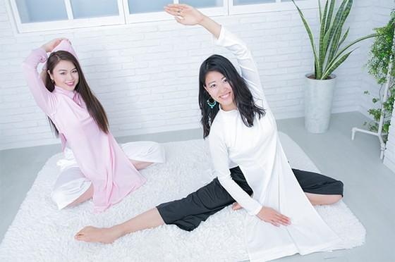 ベトナムの民族衣装「アオザイ」がジャージ素材で登場するかも!? ヨガウェアになるほど動きやすくて着心地抜群なんだって