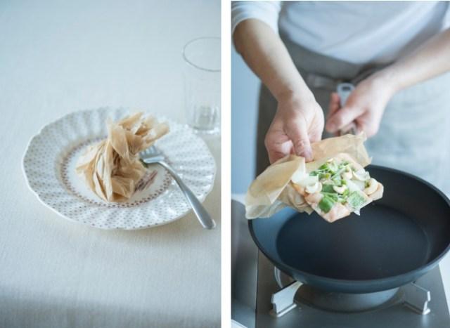 作り置きには「オーブンペーパー」がめちゃ使えるみたい / 料理本『離れている家族に 冷凍お届けごはん』のアイデアに目からウロコ