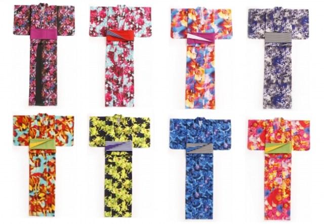 【三越伊勢丹限定】蜷川実花デザインの「花」浴衣がビビッドで可愛い♪ 打ち上げ花火にも勝る存在感です