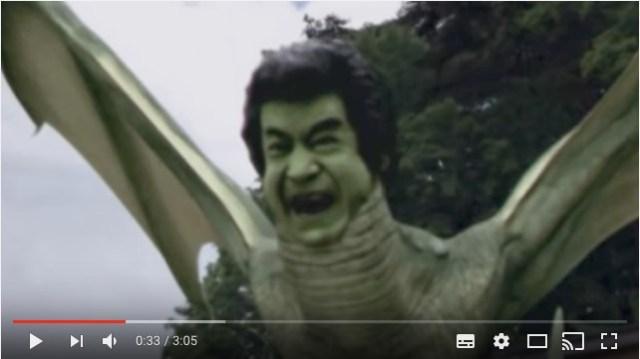 俳優「藤岡弘、」は未確認生物だった!? 日清UFOが公開した映像がトラウマ級の衝撃内容…だけど見ているうちに愛情がわくよ