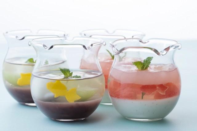 グラスの中で金魚が泳いでるみたい / マンダリンオリエンタル東京の夏スイーツ「アクアリウム」がとっても涼しげです♪