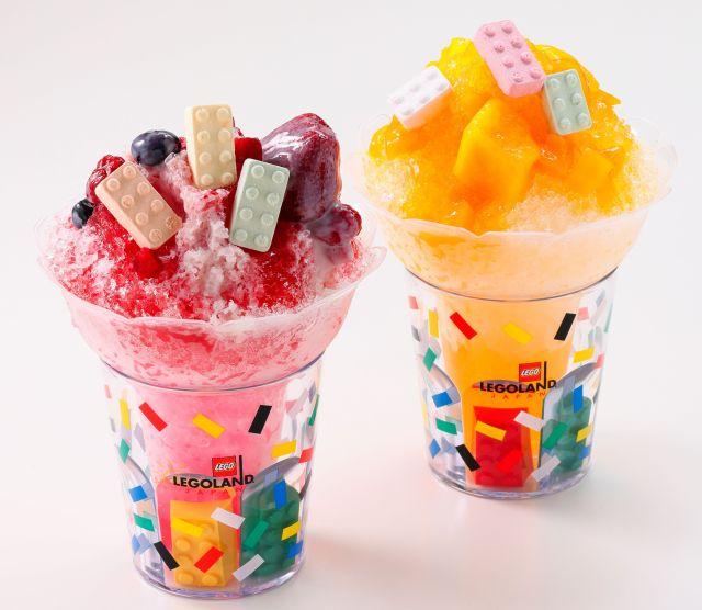 カラフルなレゴブロックがのってるみたい♪ 「レゴランド・ジャパン」の夏限定フードがどれもかわいくておいしそうです!