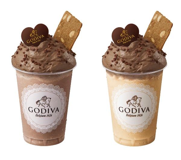ゴディバからご褒美感たっぷりのチョコレートムースドリンク2種が登場だよ♡ ふわふわ食感に癒やされそう…