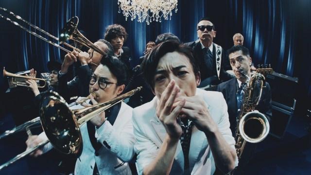 高橋一生&ハマケンがスカパラに加入!? クールにセッションする「氷結」WEBムービーがかっこいい!!! ブルースハープ弾けるとか高橋さん多才すぎです