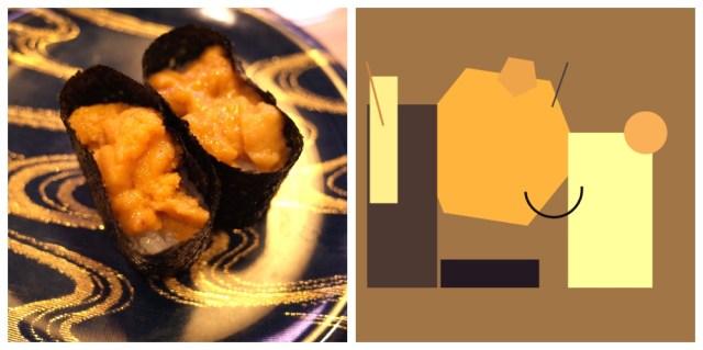 どんな画像でも「ピカソみたいな抽象画」にしてくれるウェブサービスで遊んでみた → お寿司のうにが…うにに見えない!!!