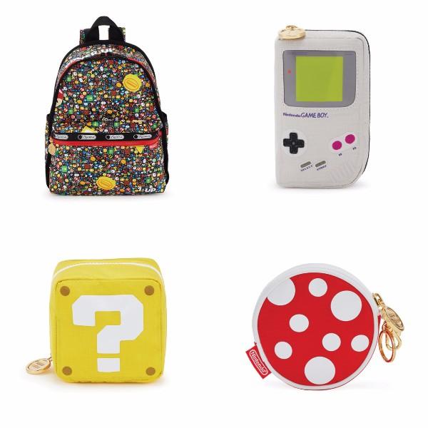 【レスポートサック × 任天堂】ゲームボーイ型のポーチやマリオキャラモチーフのバッグなどが可愛いのだ!
