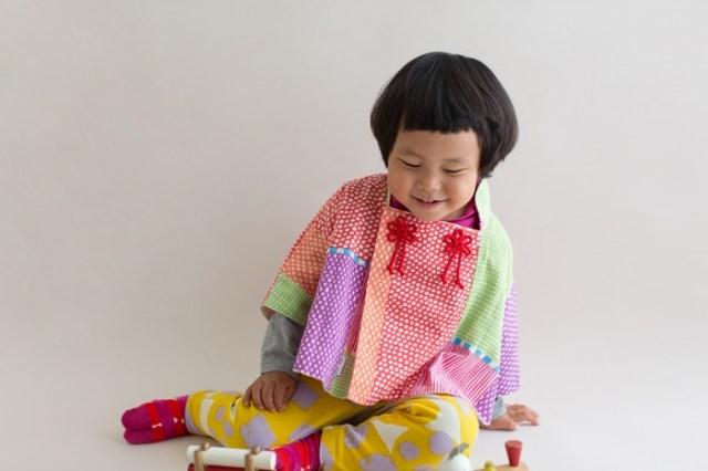 0歳から3歳まで着られるSOU・SOUの「和ポンチョ」が可愛すぎるぅ! カラフルでポップでちょっぴり北欧風でもあるのです